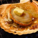 特大「枝幸のホタテ」を使ったホタテ丼