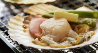 ホタテ料理と言えば『枝幸の浜焼き』