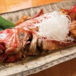 渋谷にある金目鯛専門店『魚きんめ』で味わう「金目鯛の煮付け」