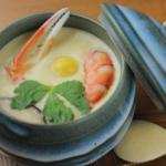 豊洲の茶碗蒸しなら 魚介がゴロゴロ入った『お魚ダイニング 三好』の「茶碗蒸し」