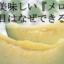 夏に美味しい『メロン』!網目はなぜできる?