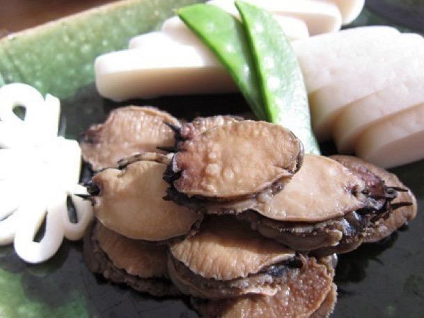 アワビに似た貝