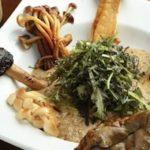 自然薯の生とろろと木の子のロースト(SUMI-BIO 恵比寿)
