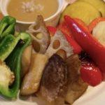 有機野菜の塩麹バーニャカウダ(たまな食堂  南青山)
