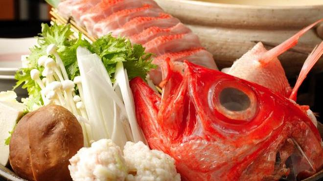 『城ヶ崎おかもと』でオススメの金目鯛料理