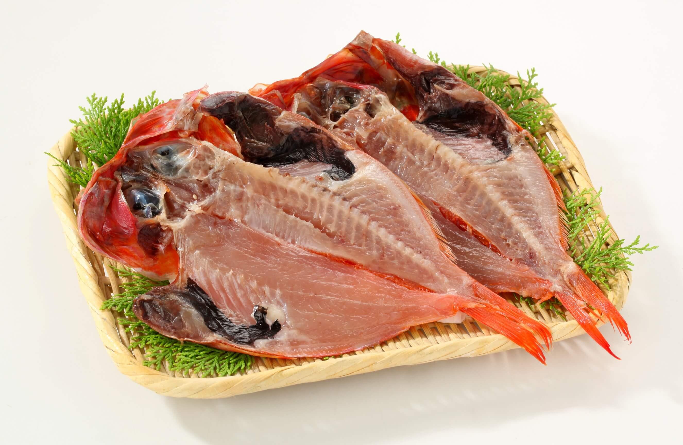 金目鯛を食べるなら、やっぱり冬!